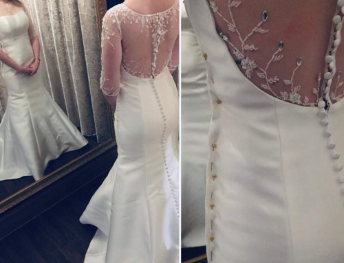 Altering a Wedding Dress That Is Too Big