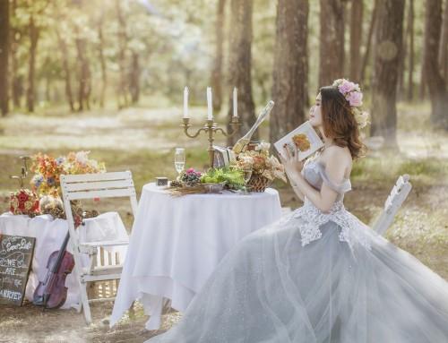 Choosing the best wedding dress for your outdoor wedding